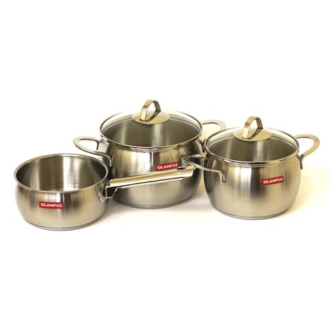 Набор посуды 3 предмета Silampos Океан 636124V80420