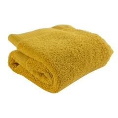 Полотенце для лица горчичного цвета из коллекции Essential, 30х30 см Tkano TK21-FT0001