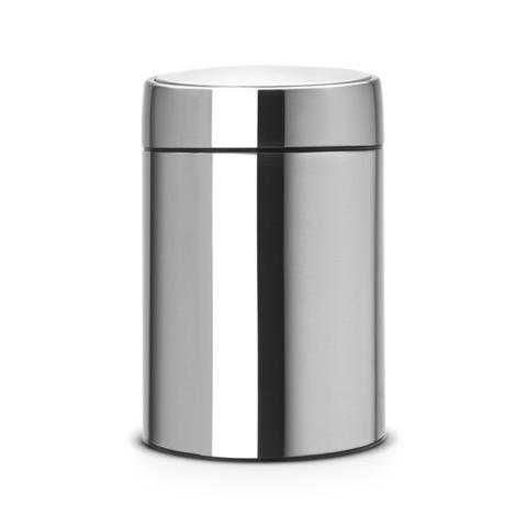 Ведро для мусора с крышкой SLIDE (5л) Brabantia 477546
