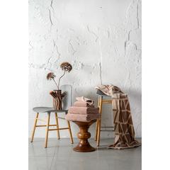 Полотенце для лица коричневого цвета из коллекции Essential, 30х30 см Tkano TK19-FT0003