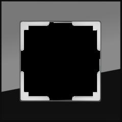 Рамка на 1 пост (черный) WL01-Frame-01 Werkel