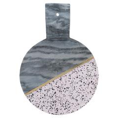 Доска сервировочная из мрамора и камня Elements D 25 см TYPHOON 1401.043V