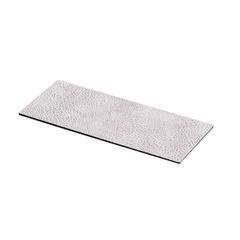 Металическая подставка для магнитных подсвечников 27x11 см Hippo white-grey LindDNA-98982