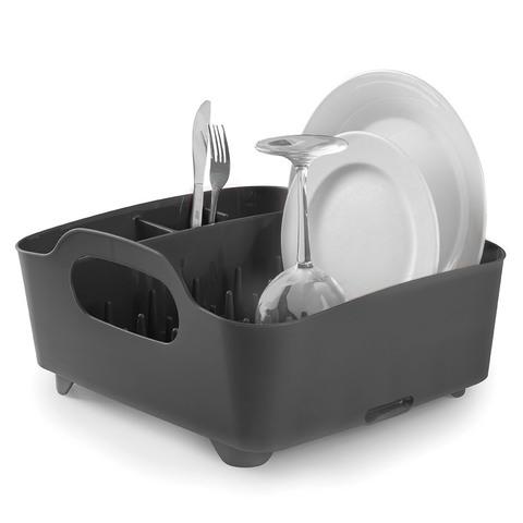 Сушилка для посуды Umbra tub серая 330590-582