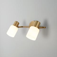Настенный светильник с поворотными плафонами Eurosvet Corso 20089/2 бронза