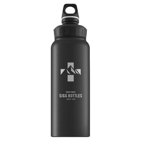 Бутылка для воды Sigg WMB Mountain, черная, 1L