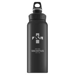Бутылка для воды Sigg WMB Mountain, черная, 1L 8744.80