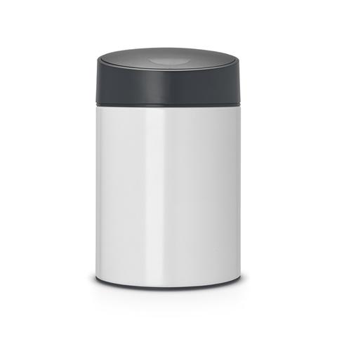 Ведро для мусора с крышкой SLIDE (5л) Brabantia 483165