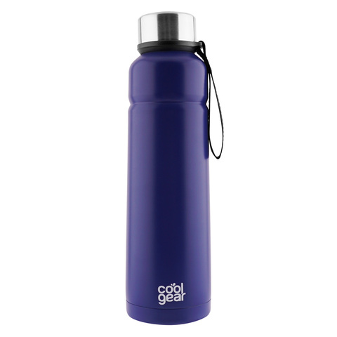 Термос Coolgear Cayambe (0,7 литра) синий