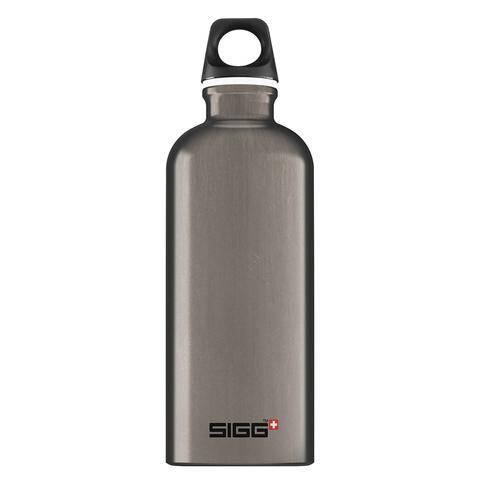Бутылка для воды Sigg Traveller, темно-серая, 0,6L