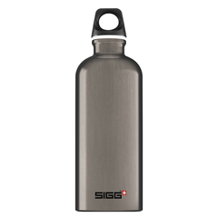 Бутылка для воды Sigg Traveller, темно-серая, 0,6L 8623.20