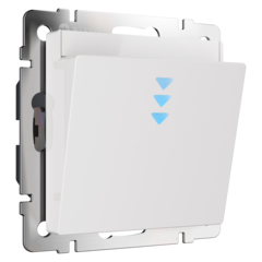 Электронный карточный выключатель (белый) WL01-01-03 Werkel