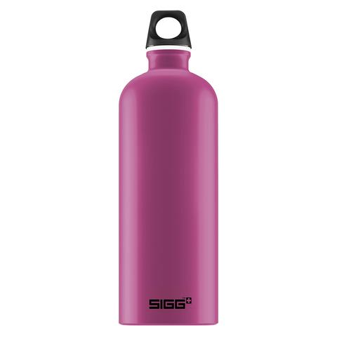 Бутылка для воды Sigg Traveller, розовая, 1L