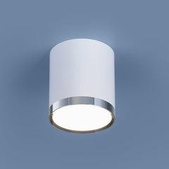 Накладной потолочный  светодиодный светильник DLR024 6W 4200K белый матовый Elektrostandard
