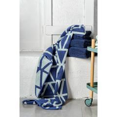 Полотенце для лица темно-синего цвета из коллекции Essential, 30х30 см Tkano TK19-FT0002