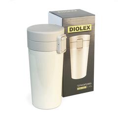 Термокружка 450мл Diolex (с кнопкой клапаном) DXMV-450-2