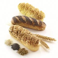 Форма для приготовления мини-багетов Mini Baguette Bread силиконовая Silikomart 21.002.13.0065