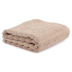 Полотенце для рук Waves бежевого цвета из коллекции Essential, 50х90 см Tkano TK21-HT0004