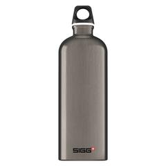 Бутылка для воды Sigg Traveller, темно-серая, 1L 8623.30
