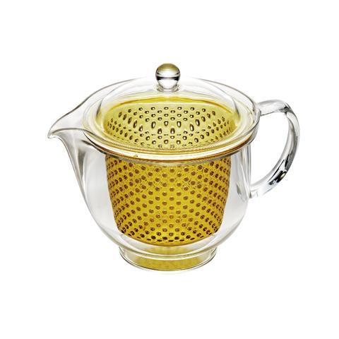 Термостоикий чайник с заварником 0,48л Akebono TW-3719