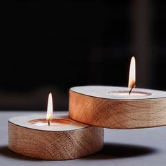 Набор из 2 подсвечников для чайных свечей 8х10х2,5см Nupo rose LindDNA-9842