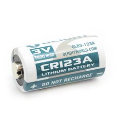 Литиевая батарея Olight CR123А 3.0V. 1600 mAh 927130