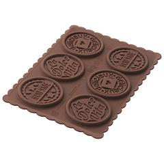 Форма для приготовления печенья Cookie Dolce Vita Slim силиконовая Silikomart 22.165.77.0165