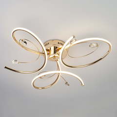 Светодиодный потолочный светильник Eurosvet Saona 90099/3 золото