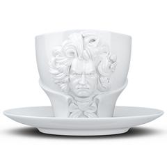 Чайная пара Tassen Talent Ludwig van Beethoven, 260 мл, белая T80.01.01