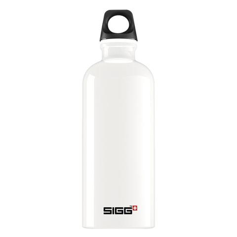 Бутылка для воды Sigg Traveller, белая, 0,6L