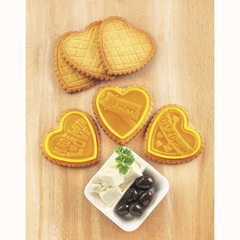 Форма для приготовления печенья Cookie Love силиконовая Silikomart 22.166.77.0065