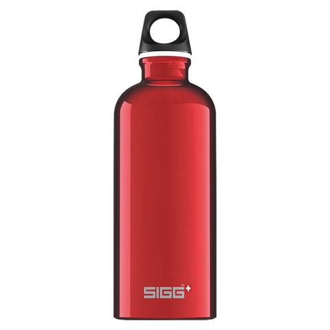 Бутылка для воды Sigg Traveller, красная, 0,6L