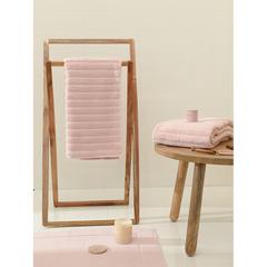 Полотенце для рук Waves цвета пыльной розы из коллекции Essential, 50х90 см Tkano TK21-HT0002