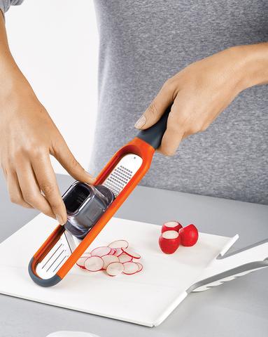 Терка и слайсер 2-в-1 Handi-Grate оранжевая