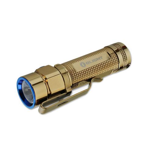 Фонарь светодиодный Olight S1A-CU RAW Cooper Медь