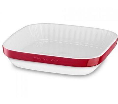 Форма керамическая 26х26см для пирога KitchenAid KBLR09AGER
