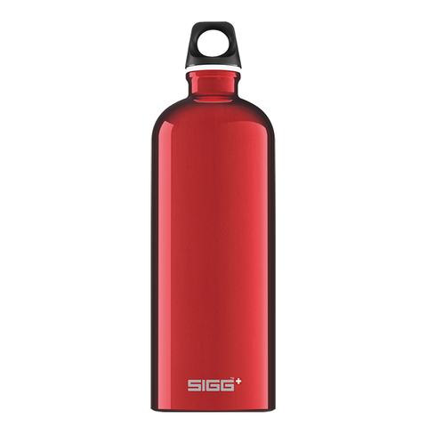 Бутылка для воды Sigg Traveller, красная, 1L