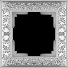 Рамка на 1 пост (жемчужный) WL07-Frame-01 Werkel