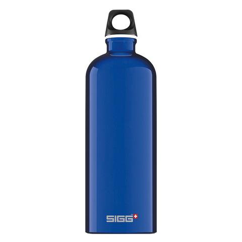 Бутылка для воды Sigg Traveller, голубая, 1L