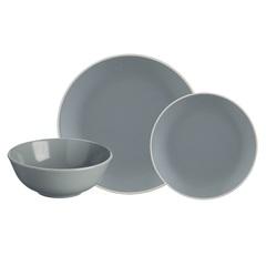 Набор обеденной посуды Classic 12 предметов серый Mason Cash 2001.897