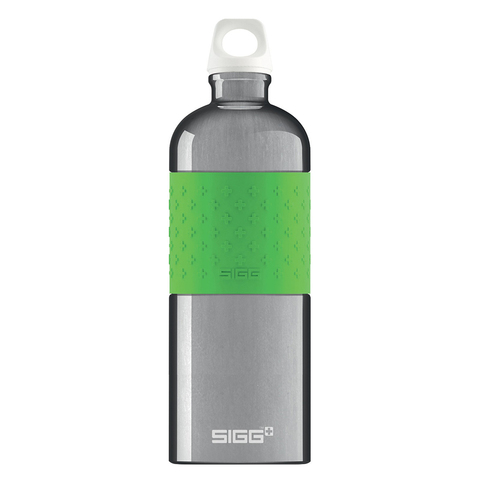 Бутылка для воды Sigg CYD Alu, серо-зеленая, 1L