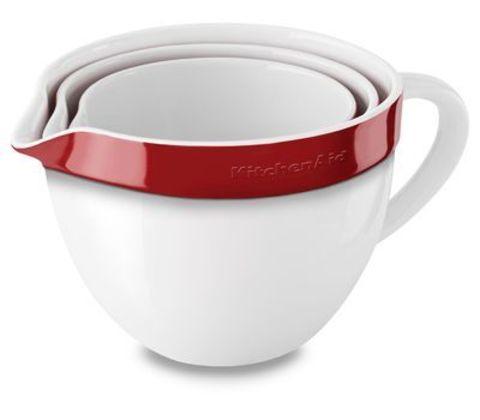 Набор из 3 керамических чаш для запекания/смешивания KitchenAid KBLR03NBER