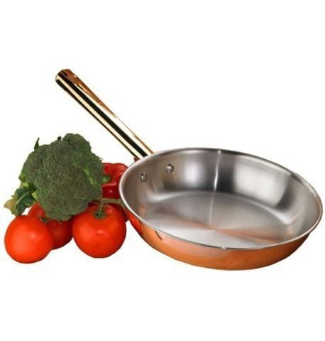 Сковорода медная Frabosk Antika 24см 56424