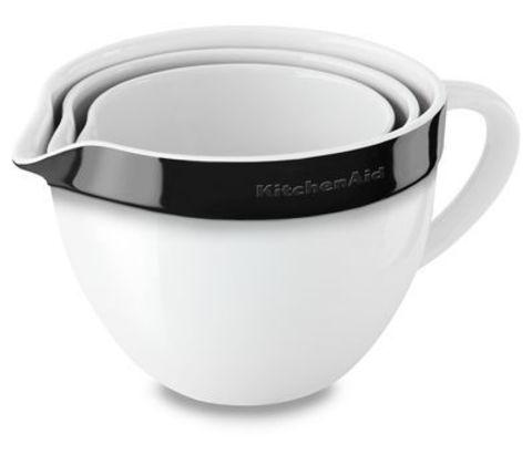 Набор из 3 керамических чаш для запекания/смешивания KitchenAid KBLR03NBOB