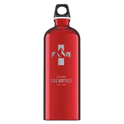 Бутылка для воды Sigg Mountain, красная, 1L