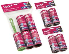 Комплект: ролик-щетка для одежды и 8 сменных блока York