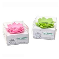 Держатель для зубочисток lotus белый QL10156-WH-WH