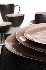 Тарелка для десерта 20 см COSY&TRENDY Laguna old rose 1690513