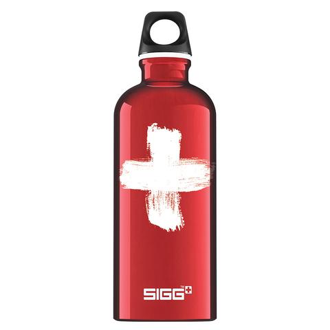 Бутылка для воды Sigg Swiss, красная, 0,6L