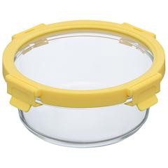 Набор Smart Solutions из 3 круглых контейнеров для еды желтый ID301RD_127C